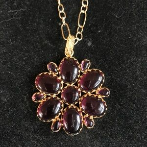 Julie collection pink tourmaline pendant necklace